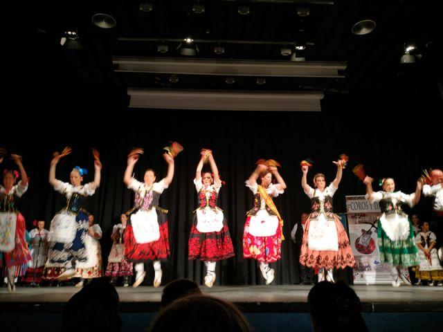 El Grupo de Coros y Danzas Virgen del Rosario de Torre Pacheco participó en el XVI Festival de Folclore Castellanos de Olid en Valladolid - 2, Foto 2