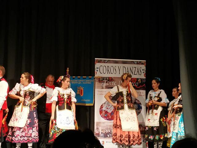 El Grupo de Coros y Danzas Virgen del Rosario de Torre Pacheco participó en el XVI Festival de Folclore Castellanos de Olid en Valladolid - 5, Foto 5