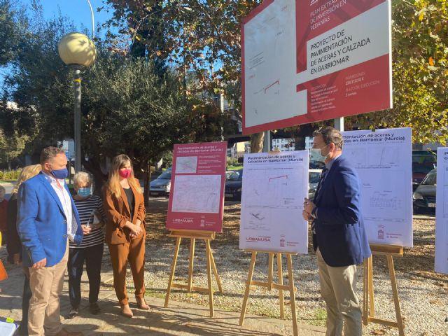 El Ayuntamiento inicia en Barriomar el Plan de mejora de la accesibilidad de los barrios de Conexión Sur - 1, Foto 1