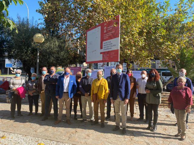 El Ayuntamiento inicia en Barriomar el Plan de mejora de la accesibilidad de los barrios de Conexión Sur - 2, Foto 2
