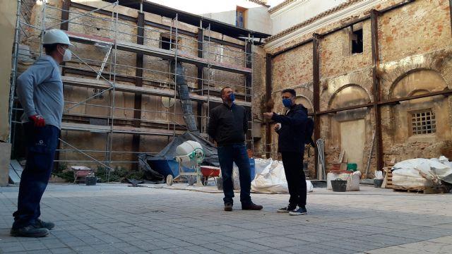 Una inversión de 750.000€ del gobierno del PP permite avanzar en la recuperación del claustro de la iglesia del Carmen para acoger el Museo del Vía Crucis - 1, Foto 1