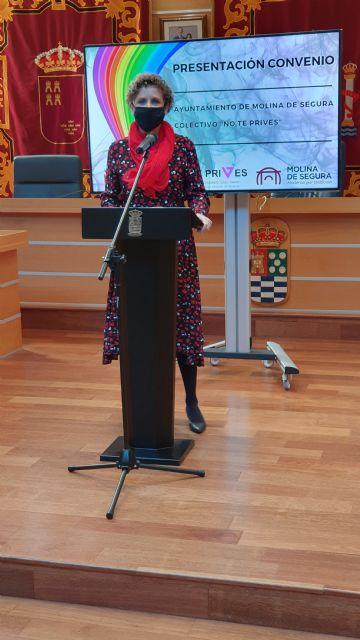El Ayuntamiento de Molina de Segura y el Colectivo No te prives LGTBI de la Región de Murcia firman un convenio para la realización de actividades de sensibilización contra la LGTBIfobia en 2020 - 3, Foto 3