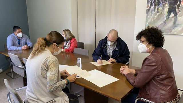 El Ayuntamiento suscribe un convenio con el Cabildo de Cofradías Pasionarias para el mantenimiento de su casa museo - 1, Foto 1
