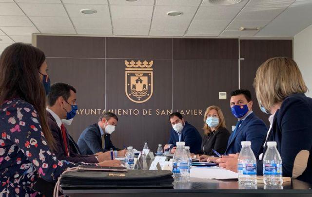 El alcalde de San Javier, José Miguel Luengo denuncia la falta de respuesta de Costas del Estado a la situación de los balnearios - 1, Foto 1