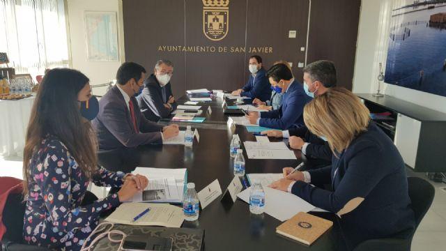 El presidente de la CHS asiste al foro interadministrativo del Mar Menor celebrado en San Javier - 1, Foto 1