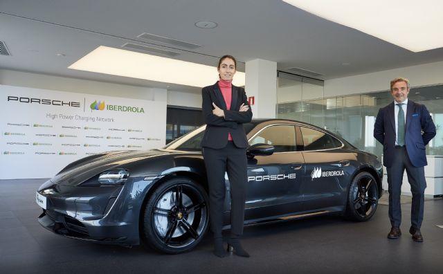 Iberdrola y Porsche se unen para promover la recarga ultrarrápida de vehículo eléctrico en España - 1, Foto 1