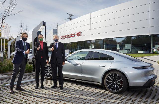 Iberdrola y Porsche se unen para promover la recarga ultrarrápida de vehículo eléctrico en España - 2, Foto 2