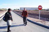 El Colegio Luís Pérez Rueda ya dispone del vial de acceso al centro educativo