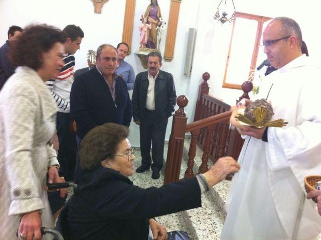 Autoridades municipales asisten al Raiguero Alto donde se celebró una misa en la ermita de Santo Domingo, Foto 2