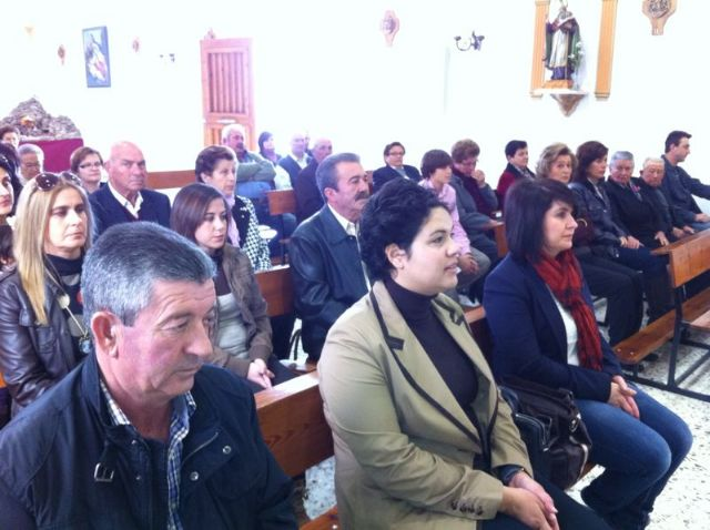 Autoridades municipales asisten al Raiguero Alto donde se celebró una misa en la ermita de Santo Domingo, Foto 4
