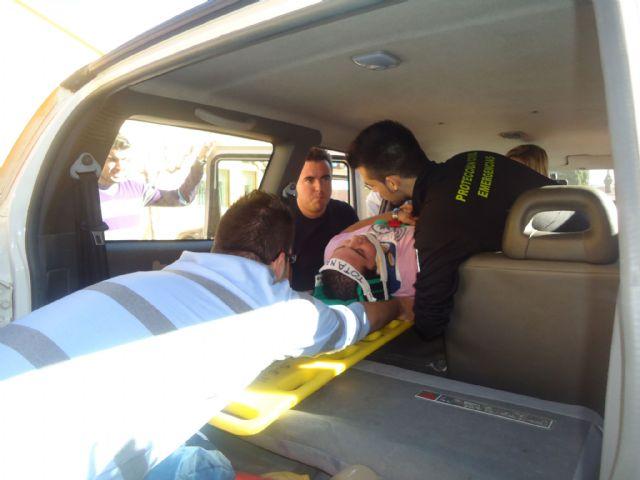 Los voluntarios de Protección Civil de Totana amplían sus conocimientos sanitarios con prácticas sobre accidentes de tráfico con víctimas, Foto 3