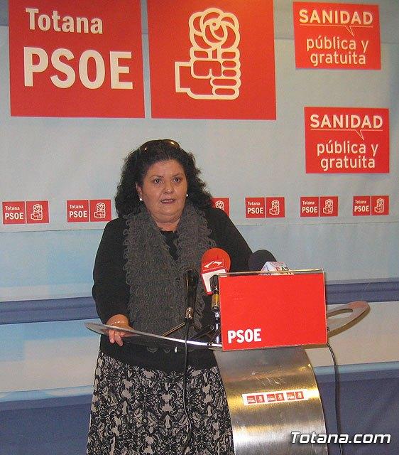 Rueda de prensa PSOE Totana sobre actualidad política nacional y municipal, Foto 1