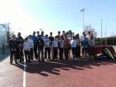 El Club Deportivo Sierra Espuña clausuró el pasado 8 de Enero su Torneo de tenis de Navidad