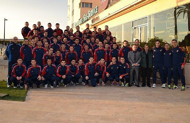 Rubinos Pérez, en las Jornadas de Perfeccionamiento para árbitros de fútbol, Foto 1