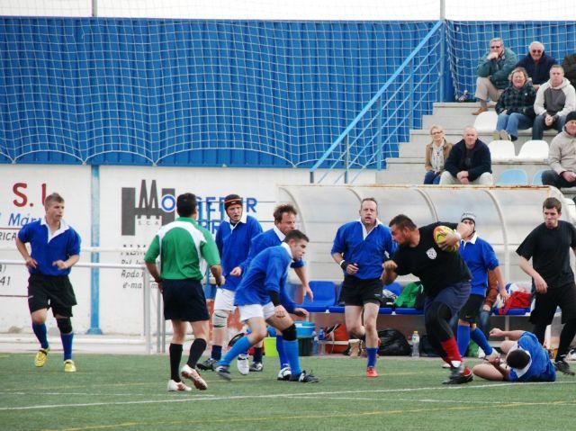 Primera victoria del Club de Rugby de Totana en su segundo partido amistoso - 1