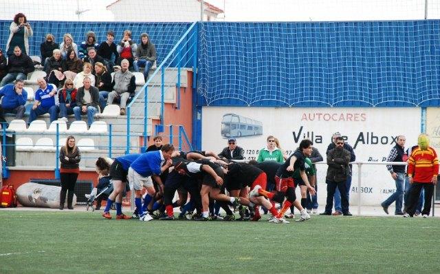 Primera victoria del Club de Rugby de Totana en su segundo partido amistoso, Foto 1