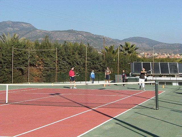 Magníficos resultados del Club de Tenis Sierra Espuña en la Liga Interescuelas Vip-Tenis Tecnifibre, Foto 1