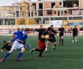 Primera victoria del Club de Rugby de Totana en su segundo partido amistoso - 7