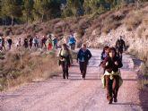 Más de 40 personas participaron en la ruta de senderismo que tuvo lugar por la Rambla de La Torrecilla (Lorca)