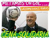 Vicente del Bosque apoyará a las Enfermedades Raras en Totana