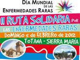 Se presenta la segunda ruta solidaria por las Enfermedades Raras