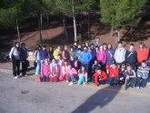 La Santa de Totana acogió la primera jornada regional de orientación de Deporte Escolar
