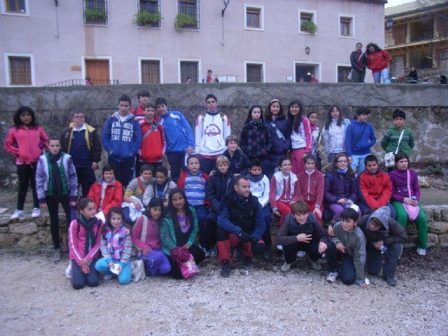 Cerca de 40 escolares totaneros participaron en la segunda Jornada Regional de Orientación de Deporte Escolar, Foto 4