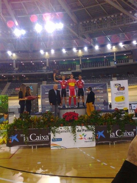 Dos medallas de bronce en los campeonatos de España de ciclismo adaptado en pista, Foto 1