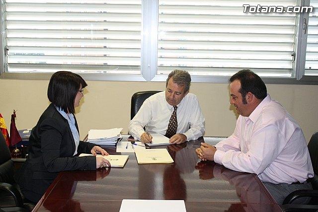 La alcaldesa solicita a la Consejería de Agricultura y Agua su colaboración para construir un pantano, Foto 1