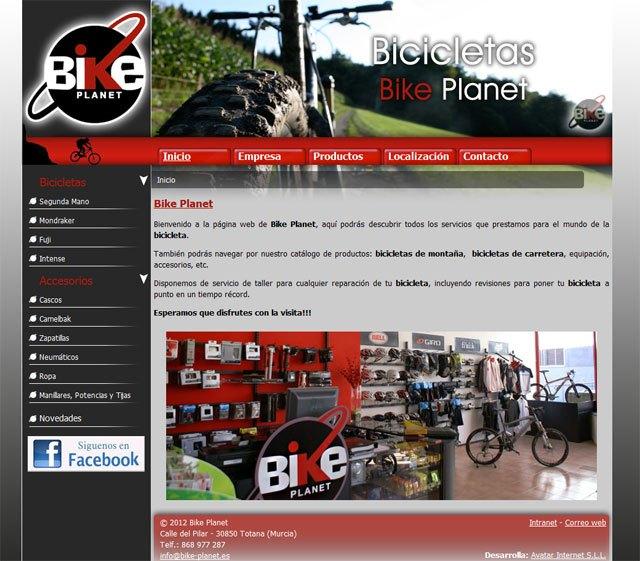 La página web de Bike Planet ya está en Internet, Foto 1