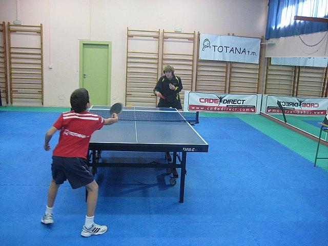 Tenis de mesa. 2ª nacional: Peña Barcelonista de Totana 1 -- Peralto Salud Linares 5, Foto 1