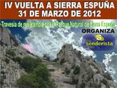 La IV Vuelta a Sierra Espuña tendrá lugar el próximo 31 de marzo