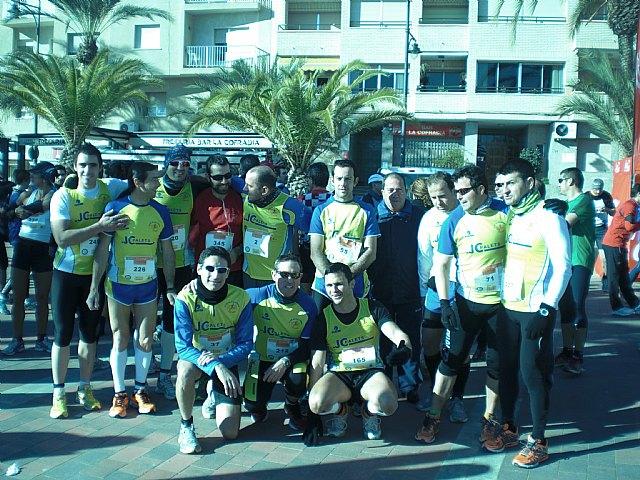 Gran papel del Club Atletismo Totana en la I Media Maratón Bahía de Mazarrón, Foto 1