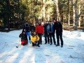 El Club Senderista de Totana realizó una ruta por la Sierra de Huetor