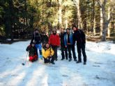 El Club Senderista de Totana realiz� una ruta por la Sierra de Huetor - 1