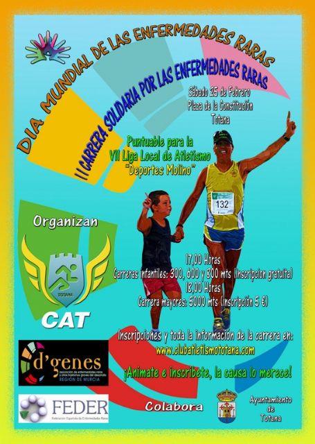 La II Carrera Solidaria por las Enfermedades Raras tendrá lugar el próximo sábado 25 de febrero, Foto 3