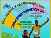 La II Carrera Solidaria por las Enfermedades Raras tendrá lugar el próximo sábado 25 de febrero