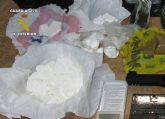 La Guardia Civil desmantela un nuevo punto de venta y distribución de drogas en Mazarrón