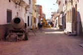 Se reanudan las obras de sustitución de las redes de abastecimiento de agua potable y saneamiento en la calle General Moscardó