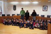 Alumnos de Educación Infantil del Colegio La Milagrosa visitan el ayuntamiento