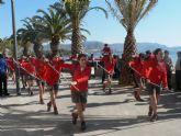 El carnaval llega a Puerto de Mazarrón con un desfile por el paseo