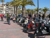 El IX Pimentón Beach Scooter Rally recorre el municipio