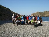 El club senderista de Totana realizó una ruta desde la Azohía hasta Cala Cerrada