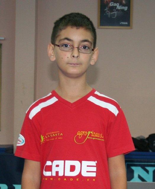 Campeonatos de España 2012. Infantil masculino. Andrés hace un buen torneo y llega a la 1ª ronda, Foto 2