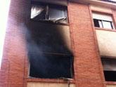 Sofocan un incendio provocado en una vivienda de la Calle Aragón originado por un cortocircuito en el frigorífico