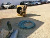 La Policía Local detiene a 3 personas por un presunto delito de robo en una empresa de Mazarrón