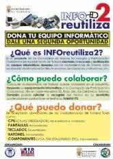 Las concejalías de Nuevas Tecnologías y Participación Ciudadana promueven la campaña Inforeutiliza2