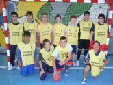 Los equipos de Fútbol Sala cadete masculino del Colegio Reina Sofía y juvenil masculino del IES Prado Mayor participaron en los cuartos de final de la fase intermunicipal de Deporte Escolar