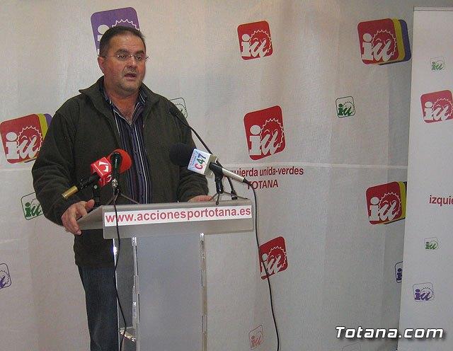 Rueda de prensa IU-verdes 08/03/2012, Foto 1