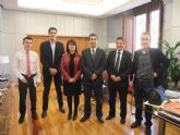 La alcaldesa se reúne con el Consejero de Cultura y Turismo para repasar algunos proyectos